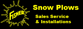 Fisher Snow Plows Sales Service Installation